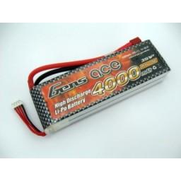 Acumulator LiPo GENS ACE 11.1 V/ 4000 mA/ 25C