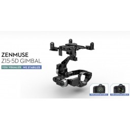 Gimbal DJI ZENMUSE Z15 pentru CANON 5D (MK2 sau 3)