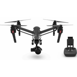 Drona DJI INSPIRE 1 PRO cu o radiocomanda, black edition