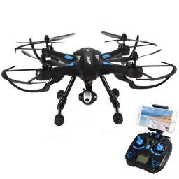Drona JJRC H26WH camera cu transmisie live pe smartphone, altitudine automata.