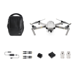 Drona DJI Mavic Pro Platinum Fly More Combo