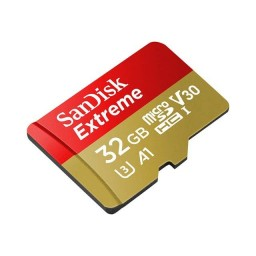 Card de memorie Sandisk Extreme microSDHC 32GB 100/60 MB/s Class 10 U3 V30 A1 GoPro