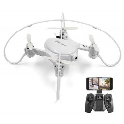 Drona iDrone FY603 Smart camera wifi, altitudine automata, Alba