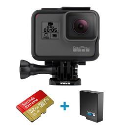 Pachet GoPro HERO5 Black card 32Gb si Acumulator suplimentar