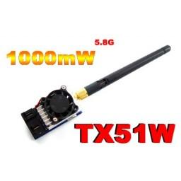 Modul emisie A/V FPV 5.8 GHz/ 1000 mW