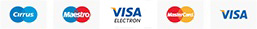 Metode de plata disponibile: Ramburs, Plata cu Cardul, Transfer bancar.