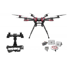Hexacopter DJI S900 cu autopilot A2 si ZENMUSE Z15