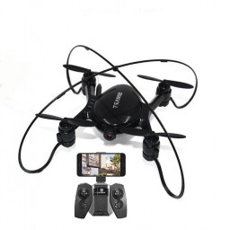 Drona iDrone FY603 Smart camera wifi, altitudine automata, Neagru