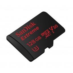 Card de memorie Sandisk MicroSDXC 128GB Extreme UHS-I, 100/90MB/s GoPro+ adaptor