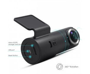 Camera Auto Goluk T2 – camera discreta cu WiFi (include card 32GB)
