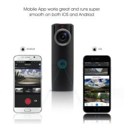 Camera Auto Goluk T2 – camera discreta cu WiFi (include card 32GB)