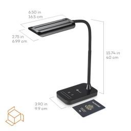 Lampa de birou LED TaoTronics TT-DL11 control Touch, 5 moduri, protectie ochi, 7W