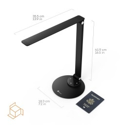 Lampa de birou LED TaoTronics TT-DL19 control Touch, 5 moduri, protectie ochi, USB