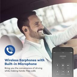 Casti audio VAVA True Wireless MOOV 26 Bluetooth 4.1, Carcasa cu incarcare,  Microfon Handsfree