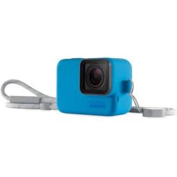 GoPro - Sleeve + Lanyard, Albastru