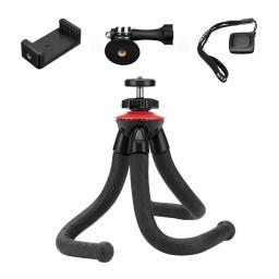 Trepied BlitzWolf flexibil pentru telefon, action camera, camera digitala cu telecomanda