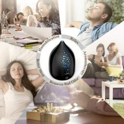 Difuzor aroma cu Ultrasunete Anjou AJ-AD006, 200ml, 13W, LED 7 culori, oprire automata