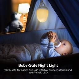 Lampa de veghe Smart VAVA VA-CL006 LED cu reglare touch a Intensitatii, lumina calda si rece