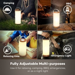Lampa led reincarcabila TaoTronics TT-DL23 control Touch