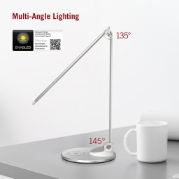 Lampa de birou LED TaoTronics TT-DL044, protectie ochi, control touch, Incarcare Telefon Wireles si USB