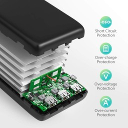 Acumulator extern RavPower RP-PB064, 32000mAh, iSmart